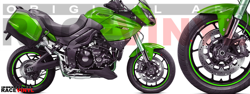 Triumph Tiger (800, 900, 955, 1050, 1200) Racevinyl Color Catalog