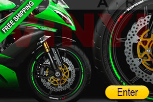Race Stripes KAWASAKI
