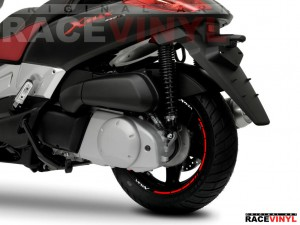 Wallpaper 01 XMAX X MAX 125 250 adhesivo pegatina vinilo llanta rueda moto sticker vinyl rim stripe