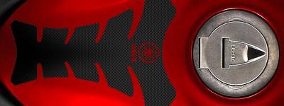 Protectores de Tanque tank pads miniatura Yamaha