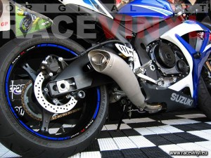 Wallpaper 03 SPEED SUZUKI GSX-R-600 vinilo llanta rueda moto adhesivo tuning kit vinyl rim stickers wheel