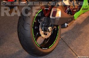 Kawasaki ZX10R 02 Wallpaper ZX6R ZX 7R ZX 12 R ZX9R adhesivo pegatina vinilo llanta rueda moto sticker vinyl rim stripe