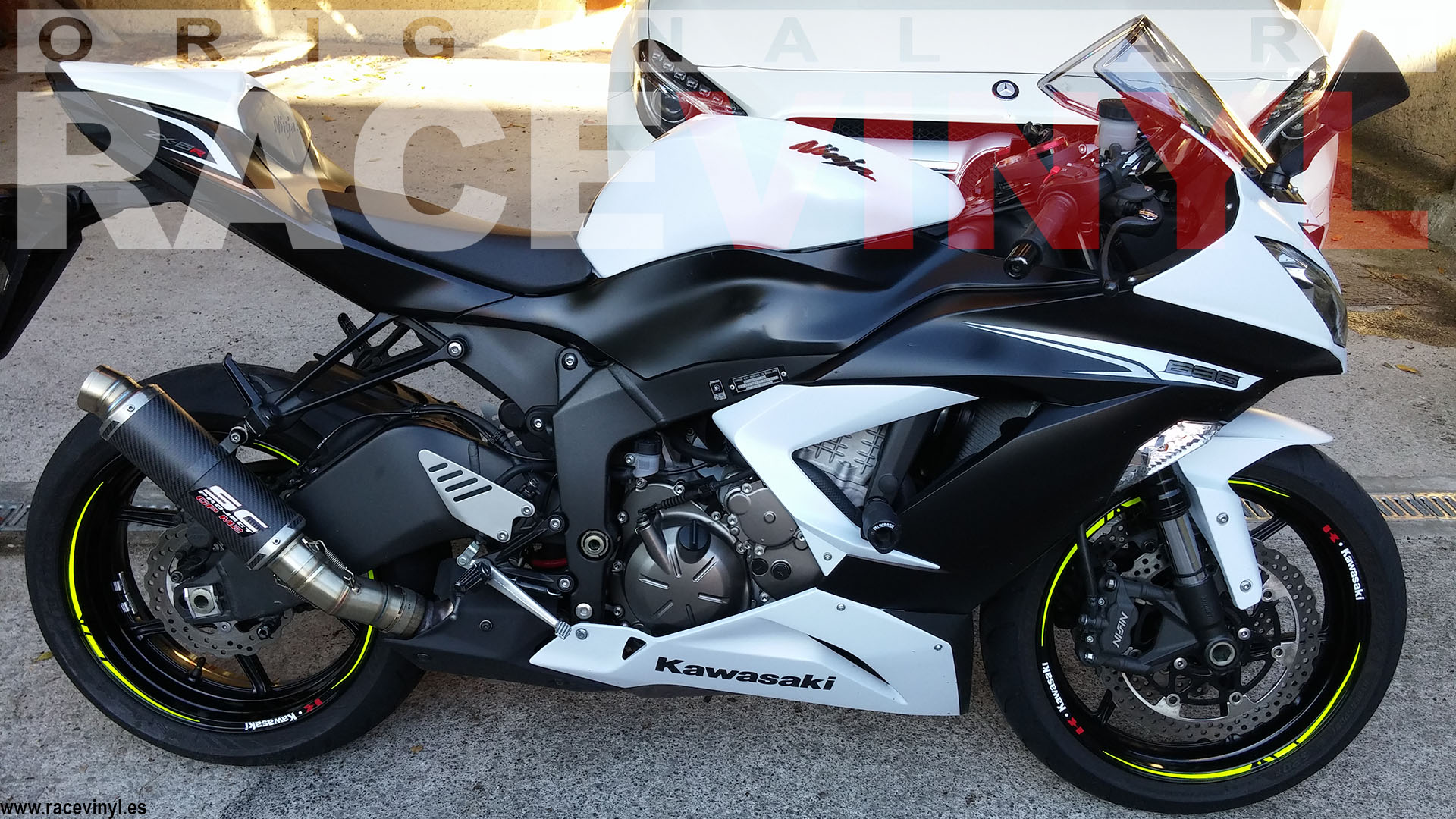 Images of Zx6r White Rims