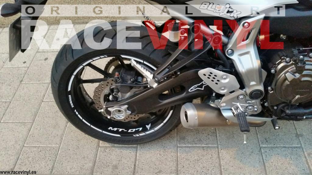 Suzuki Motorcycle Wheel Decals