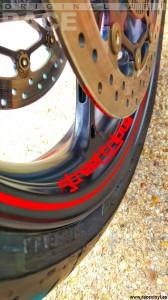 Racevinyl Triumph Streettriple 03 tankpad protector carbono tanque kit pegatina vinilo llanta rueda moto adhesivo cinta tira banda stripe sticker vinyl rim wheel tuning bike