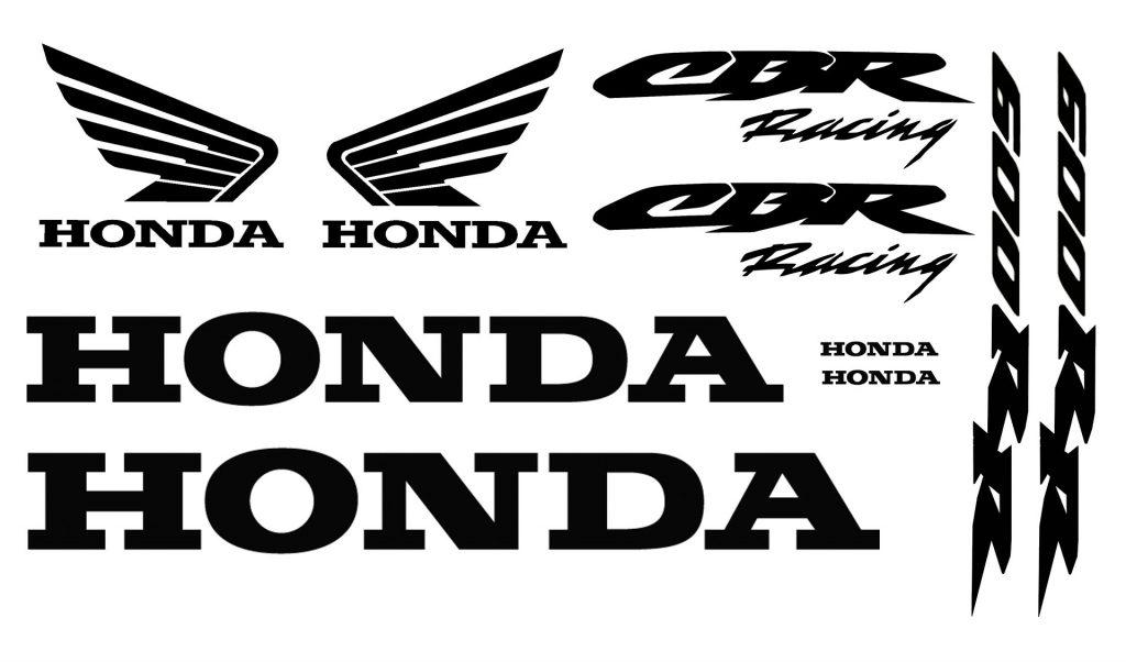 Honda Cbr600rr Stickers Satu Sticker