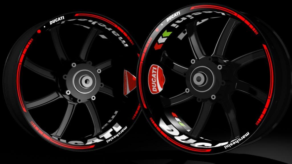 Kit Pro Ducati Racevinyl Europe Vinyl Sticker Kits For