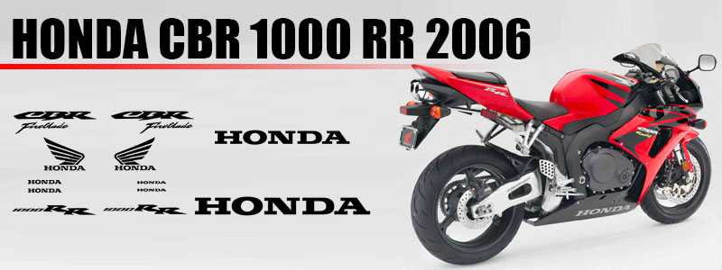 Anuncio 01 Racevinyl Logos Kit Carenado Honda CBR 1000 RR 2006 pegatina vinilo moto tuning fairing stickers vinyl motorcycle