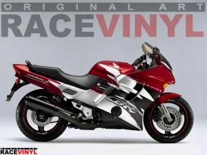 Racevinyl CBR 1000 F Hurricane Custom Tuning Pegatina llanta moto adhesivo vinilo sticker stripe rim wheel vinyl race logo