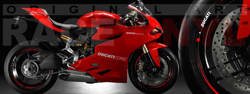 Ducati Panigale 1199 (Color Catalog Racevinyl)