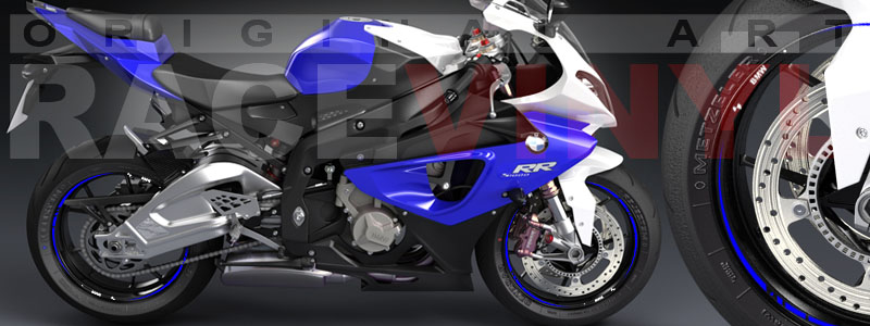 BMW S1000RR (Color Catalog Racevinyl)
