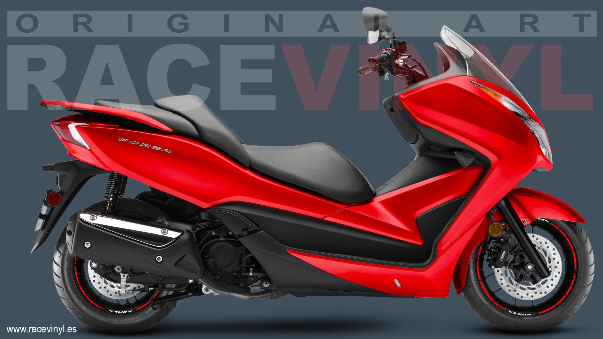 New Stripes Kit With Honda Forza Logos