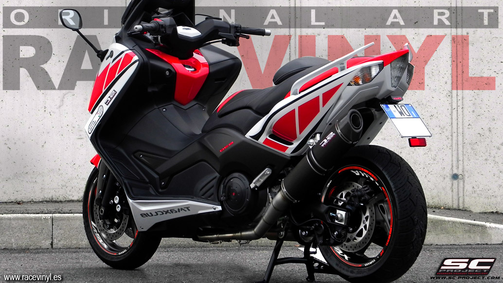 Yamaha TMAX 530 Rim stickers KIT PRO Racevinyl