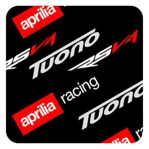 Aprilia stickers logos