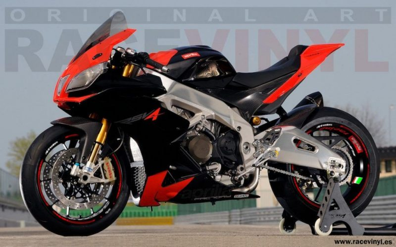 Aprilia Racing Alpinestar Kit Pro vinilos personalizados de moto
