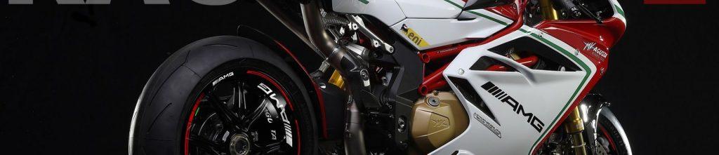 MV Agusta F4 con los vinilos Kit PRO AMG de Racevinyl vista trasera