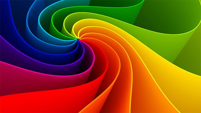 Background de colores de ejemplo