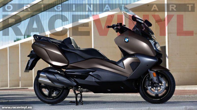 accesorios tuning, tiras circulares llantas moto bmw c650 racevinyl