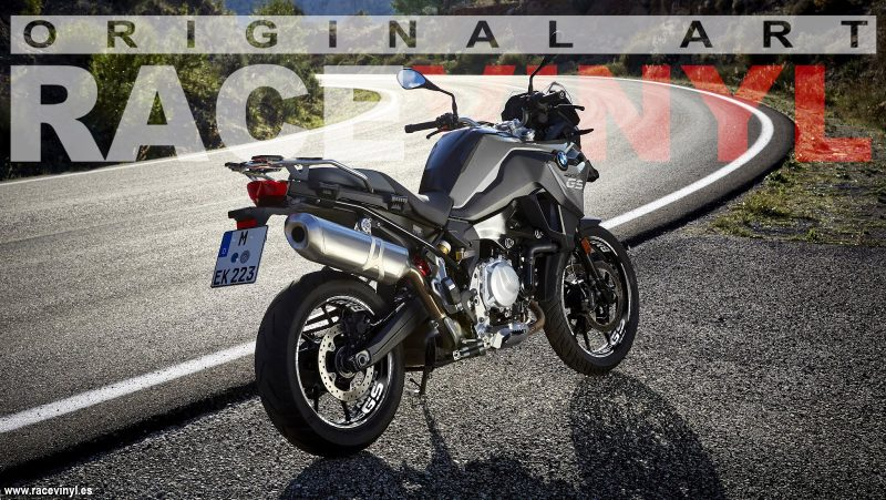 BMW F750GS accessories to customize your rims Racevinyl