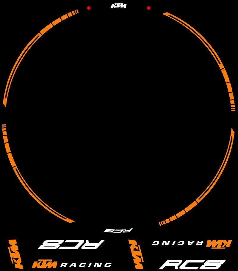 Contenido Kit PRO KTM Racing RC8