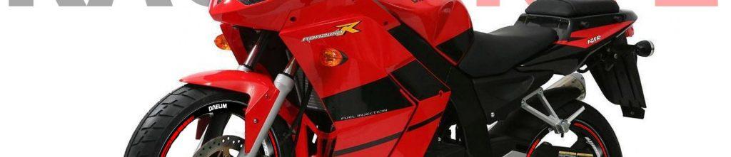 Daelim Roadwin Fi R 125 kit pro pegatinas para llantas