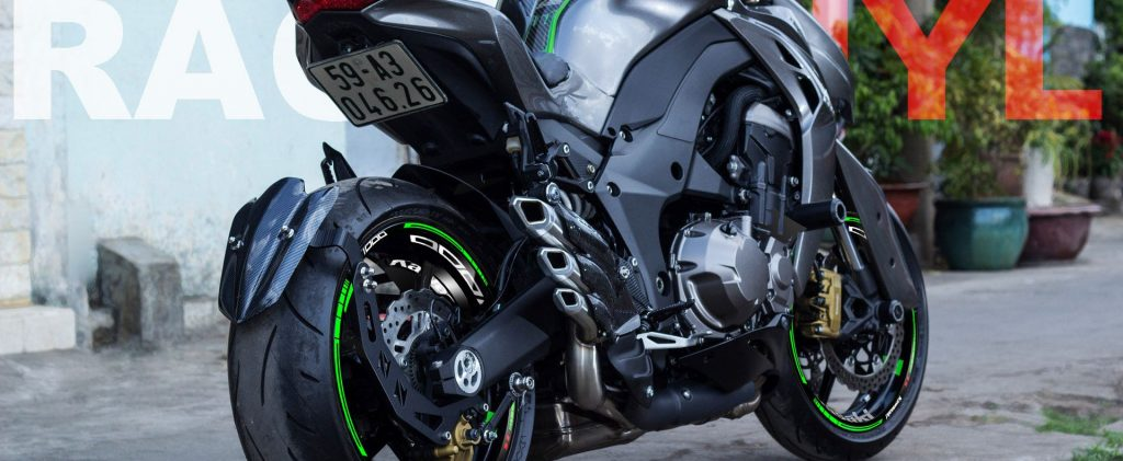 Las mejores opciones para personalizar la Kawasaki Z1000