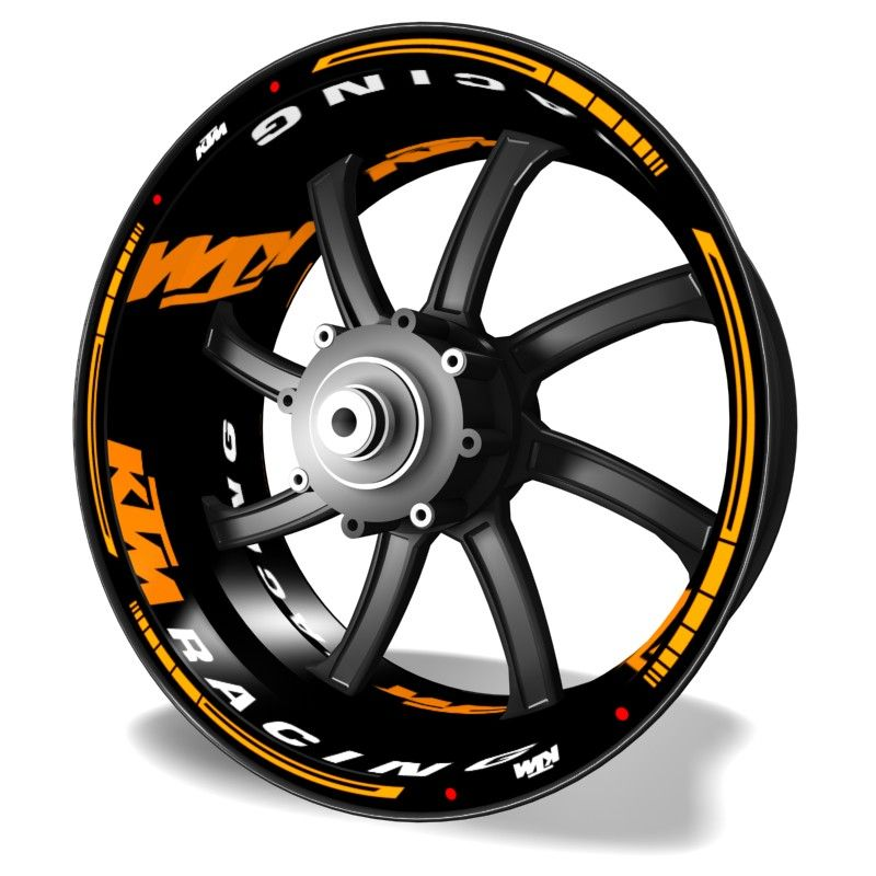 Kit PRO KTM Racing Adhesivos y pegatinas en vinilo para llantas