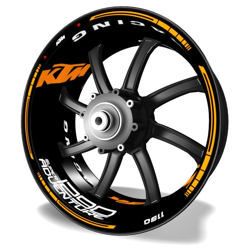Pegatinas Kit PRO KTM 1290 adhesivos en vinilo para llantas