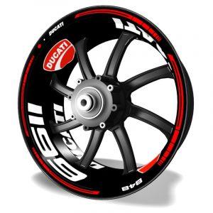 Vinilos para llantas de moto Kit PRO Ducati 1199