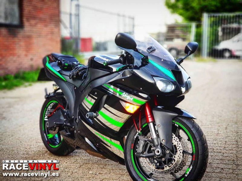 kawasaki zx6r ninja 636 2008 pegatinas vinilo llanta adhesivo vinyl stickers kit pro stripes rim tuning bike moto racevinyl 02