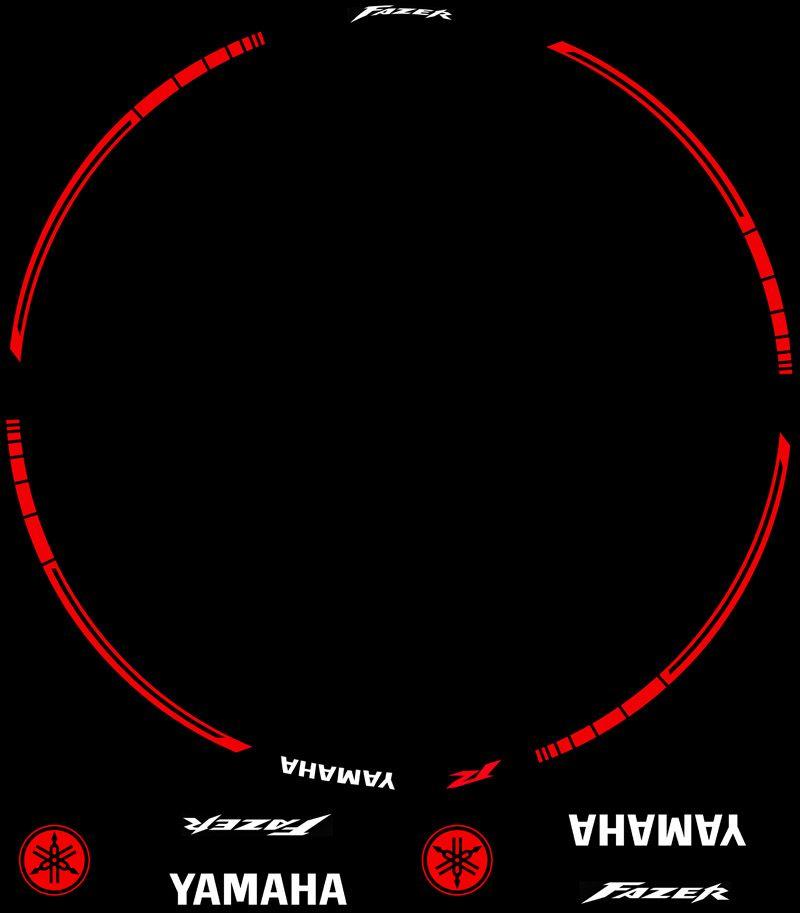 Contenido Vinilos Kit PRO Yamaha Fazer