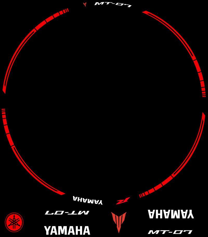 Contenido Vinilos Kit PRO Yamaha MT07