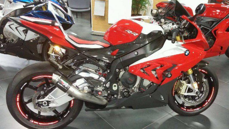 M Neely BMW S1000RR adhesivos pegatinas bandas tuning llanta rueda moto Reflectant