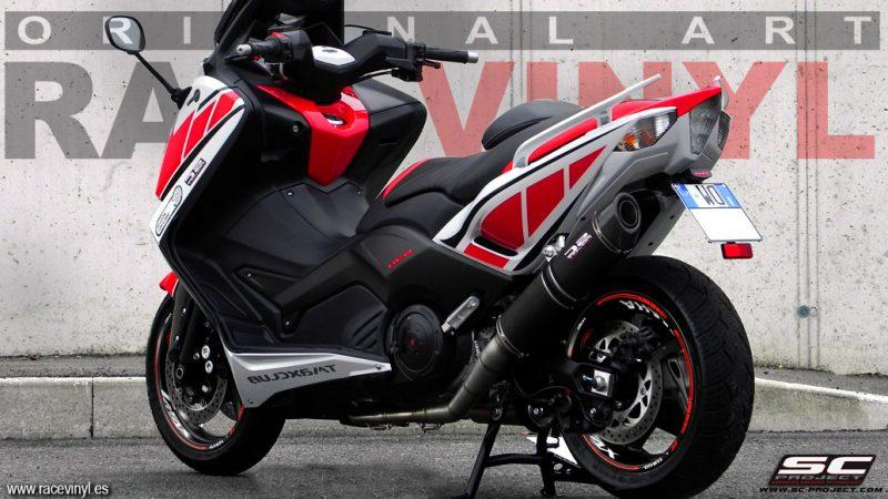 Yamaha TMAX 530 Pegatinas para llantas KIT PRO Racevinyl