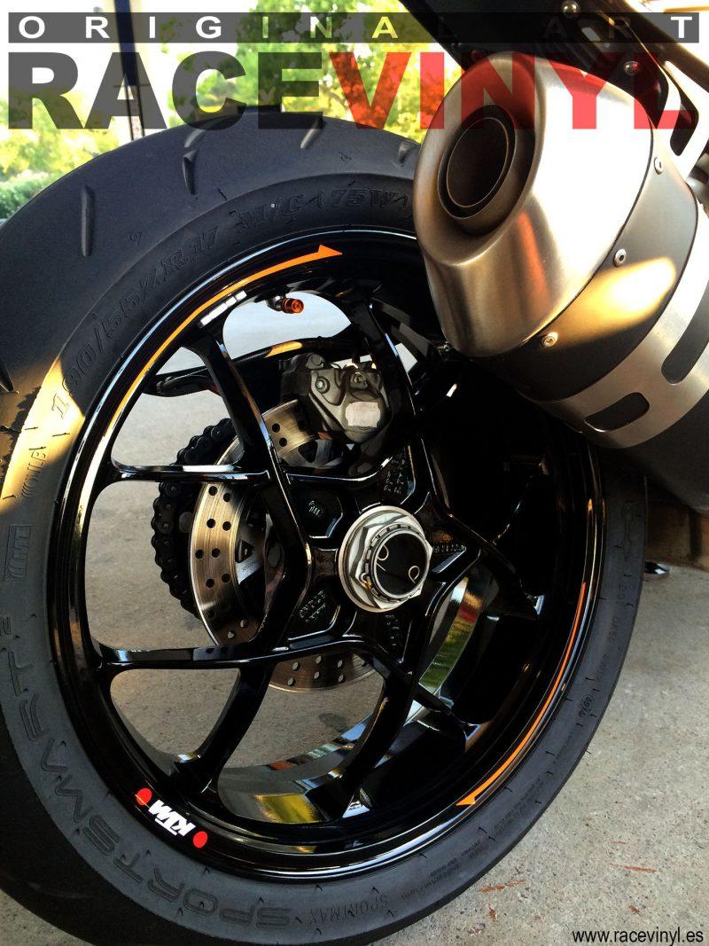 KTM 1290 Super Duke R 04 Sergi Servian racevinyl vinilo llanta rueda pegatina adhesivo tuning vinyl sticker rim kit stripe