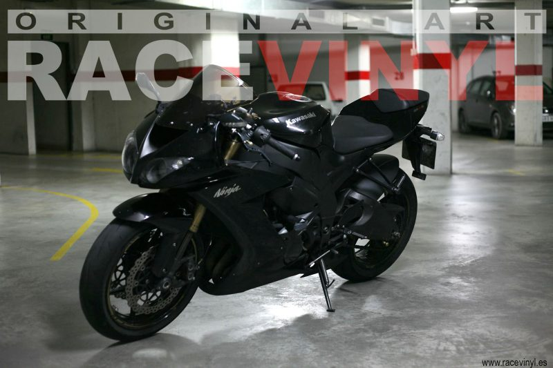 Racevinyl 02 KAWASAKI ZX10R Adrian Ortega racevinyl vinilo llanta rueda pegatina adhesivo tuning vinyl sticker rim kit stripe