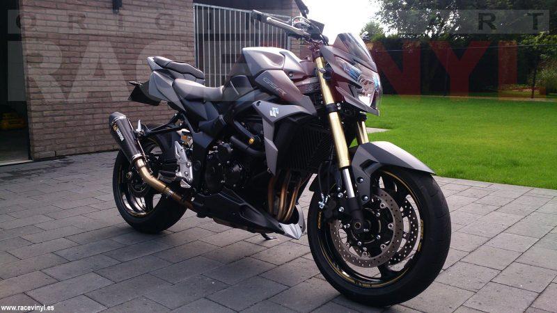 Racevinyl SUZUKI GSR 750 01 Nico Boonen vinilo pegatina adhesivo llanta tuning moto rueda bandas stripe rim vinyl sticker stripes bike wallpaper