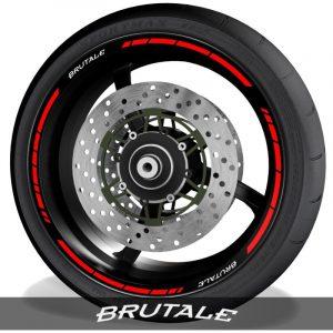 Vinilosadhesivos para perfil de llantas logos MV Agusta Brutale speed