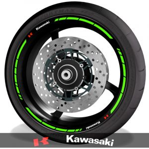 Rim Stripes Kit for Kawasaki
