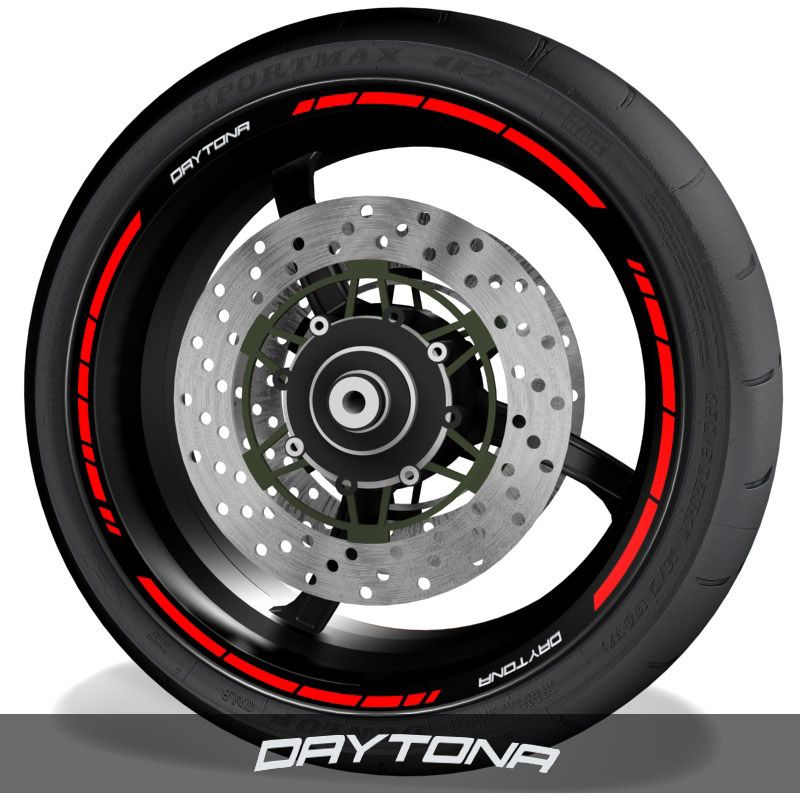 Adhesivospegatinas para perfil de llantas logos Triumph Daytona speed
