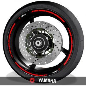 Vinilosadhesivos para perfil de llantas logos Yamaha speed
