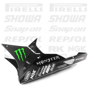 Stickers and decals with Sponsors and brands for Kawasaki