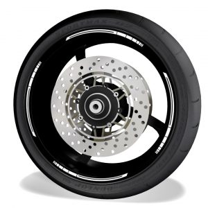Rim Stripes Kit for without logos, compatible with Honda