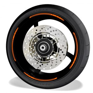 Rim Stripes Kit for without logos, compatible with KTM