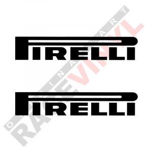 Vinilos de sponsors para motos pegatinas logotipo Pirelli 2uds