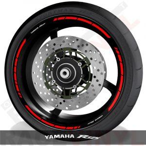 Adhesivos y accesorios para motos pegatinas para perfil de llantas Yamaha R125 speed
