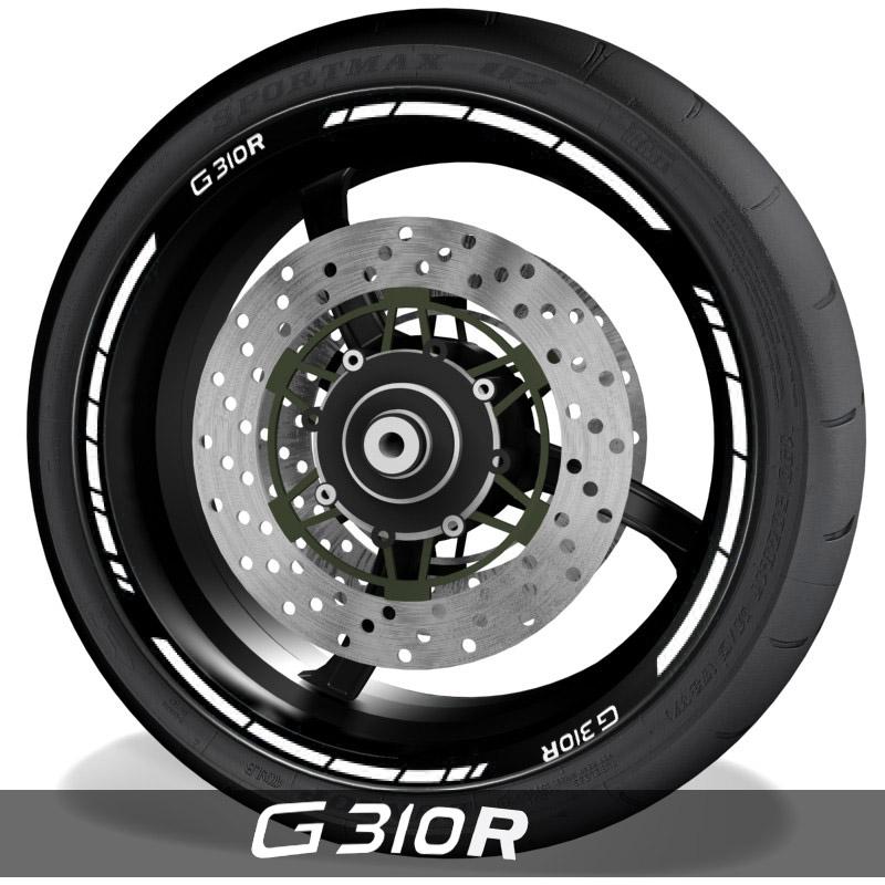 Pegatinas y accesoriosvinilo perfil de llantas BMW G310R speed