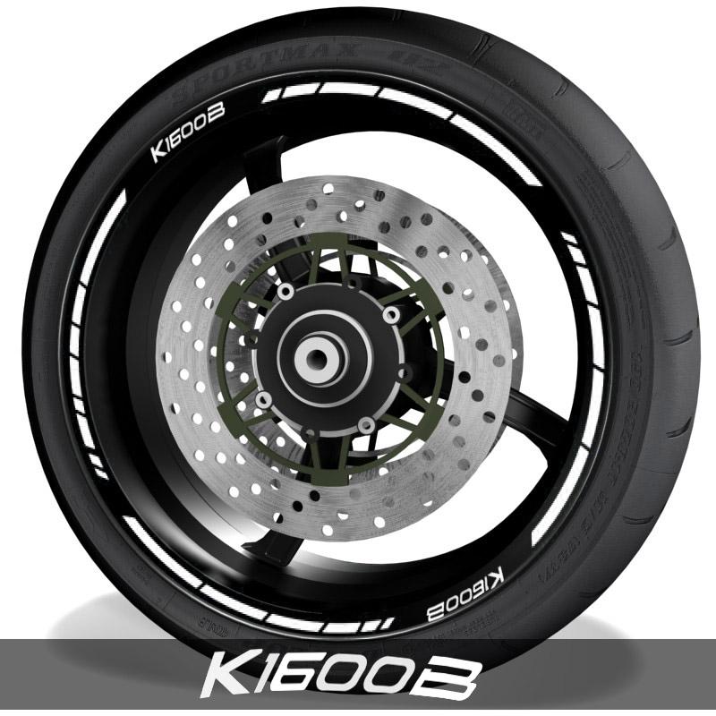 Pegatinas de moto vinilos adhesivos perfil de llantas BMW K1600B speed