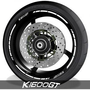 Accesorios y pegatinas de vinilo para perfil de llantas BMW K1600GT speed