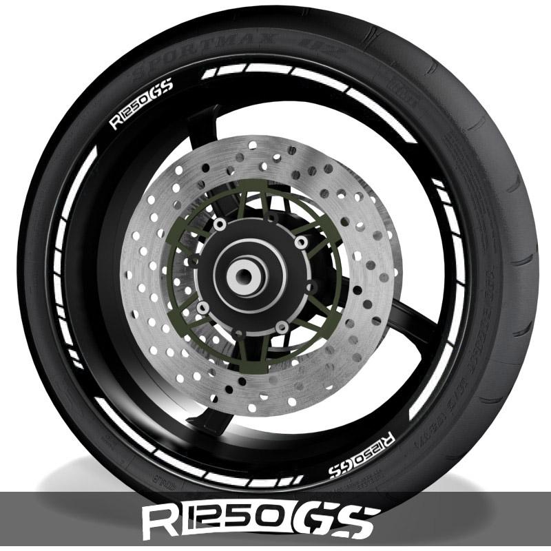 Accesorios y vinilos para motos pegatinas para perfil de llantas BMW R1250GS speed